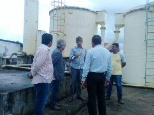 Gestores da Casal e da Prefeitura visitaram estruturas do SAAE nesta quinta-feira (9)